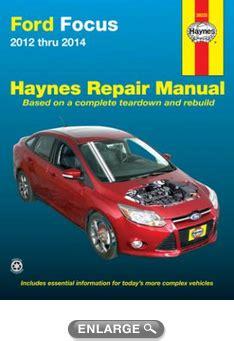 car engine manuals 2012 ford focus head up display ford focus haynes repair manual 2012 2014 hay36035