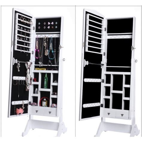 Cosmetic Cabinet by Ultimate Cosmetic N Jewelry Mirrored Cabinet