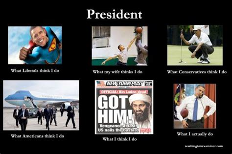 What I Actually Do Meme - what president obama really does red alert politics
