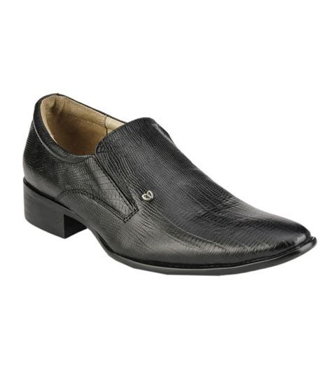 snapdeal shoes delize black formal shoes price in india buy delize black