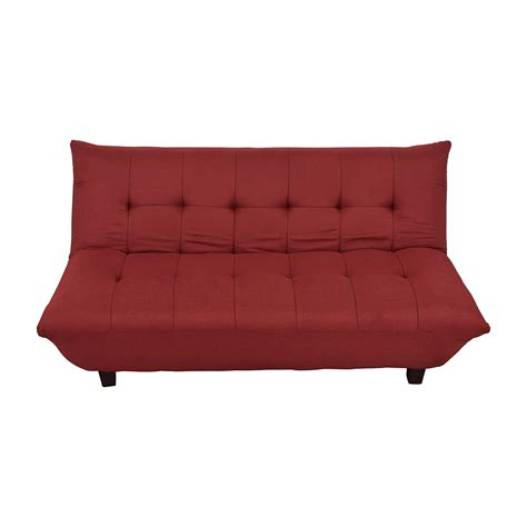 red futon couch red futon sofa bed double 4ft6 futon wood frame premium