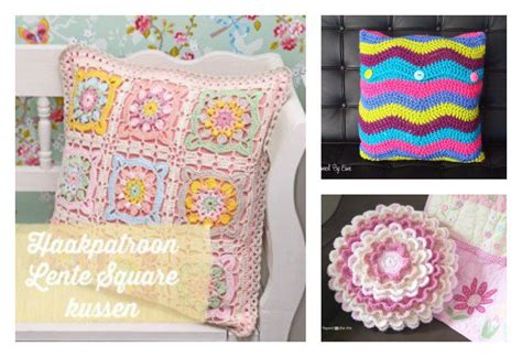 Free Pillow Patterns by 10 Free Gorgeous Pillow Crochet Patterns