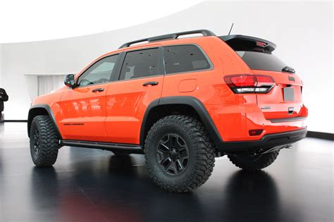 jeep cherokee trailhawk orange jeep grand cherokee trailhawk ii 2013 dark cars wallpapers