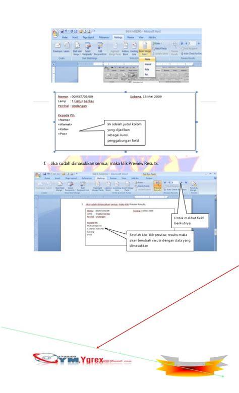 template undangan word 2007 mengenal ms word 2007