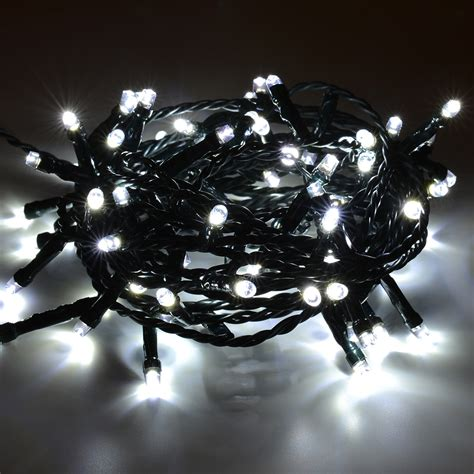 Lichterkette Outdoor Led by Led Lichterkette Kaltwei 223 Weihnachtsbeleuchtung Outdoor 40