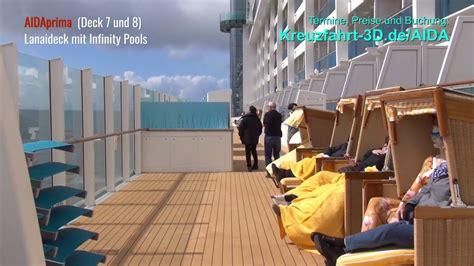 lanaideck aidaprima aidaprima lanaideck mit infinity pools deck 7 und 8