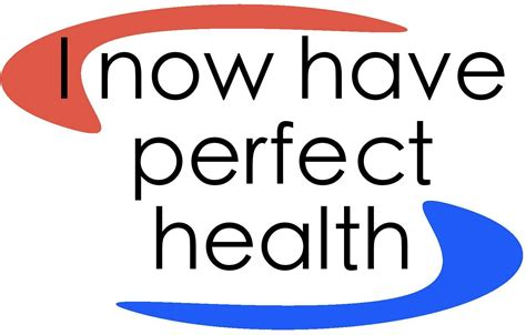 now health perfect does not exist in health tot revolution