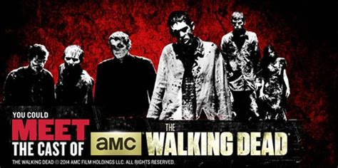 Sweepstakes Offers - dead meet sweepstakes offers chance to meet walking dead cast myideasbedroom com