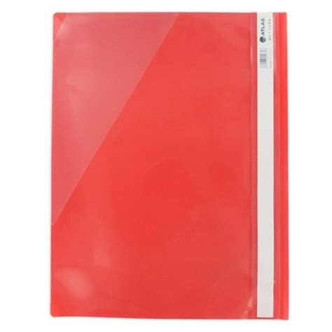 Atlas Flat File Pp A4 Thick With Pocket Assorted توصيل