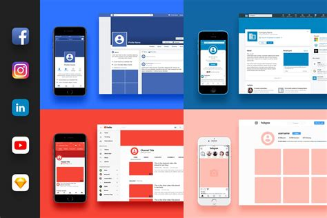 15 Free Facebook Page Mockup Templates Updated 2018 Social Media Branding Templates