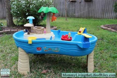 how is the water table where i live review step2 tropical island resort water table