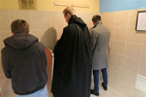 men public bathroom do public toilets give you stage fright new invention is