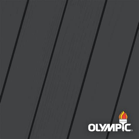 olympic maximum  gal ebony semi transparent exterior