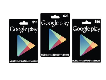 Google Play Gift Card Canada - google play gift cards headed for canada australia