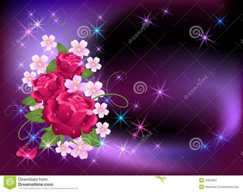 imagenes de flores que brillan fondo que brilla intensamente con las rosas imagen de