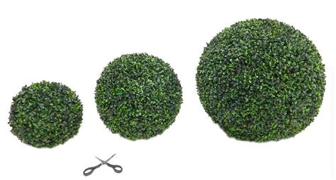 topiary boxwood balls artificial boxwood topiary by artificial