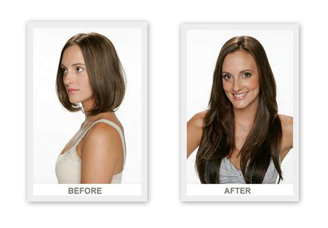 hair extensions for short hair before after hair extensions for short hair before and after photos