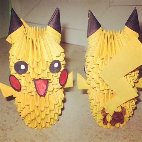 3d origami pikachu 3d origami pikachu by callmepandachan on deviantart