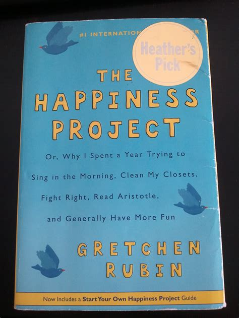 The Happiness Project By Gretchen Rubin books the happiness project by gretchen rubin craft