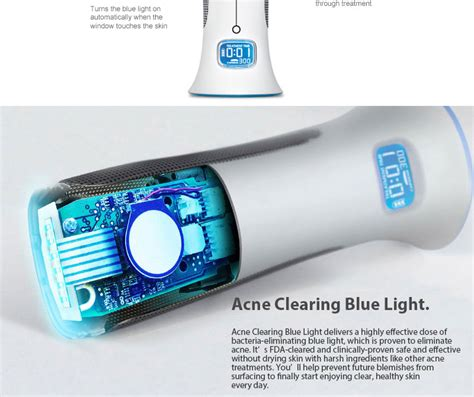 tria acne clearing blue light tria acne clearing blue light skin perfectiing treatment