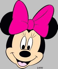 minnie mouse bow template clipart best