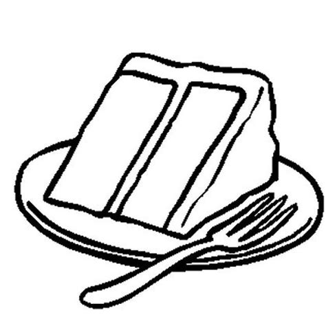 cake slice coloring page slice cake coloring pages on plate coloringstar
