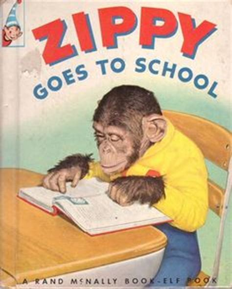 nenapoo goes to school books vintage blue ribbon 1950 s quot zippy quot stuffed monkey rubber