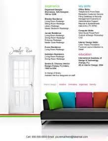 Interior Design Resume Objective Examples 50 Creative Cv Resume Design Inspiration