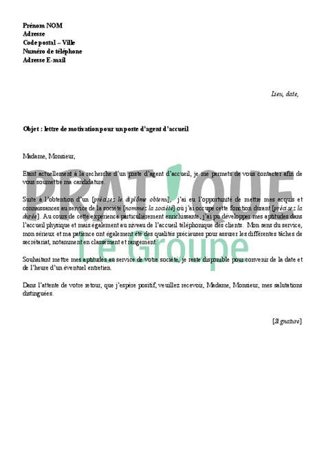 Exemple De Lettre De Motivation Pour Emploi En Boulangerie lettre de motivation pour un emploi gratuite