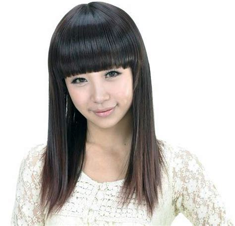 haircuts for japanese straightened hair the gallery for gt japanese hairstyles straight