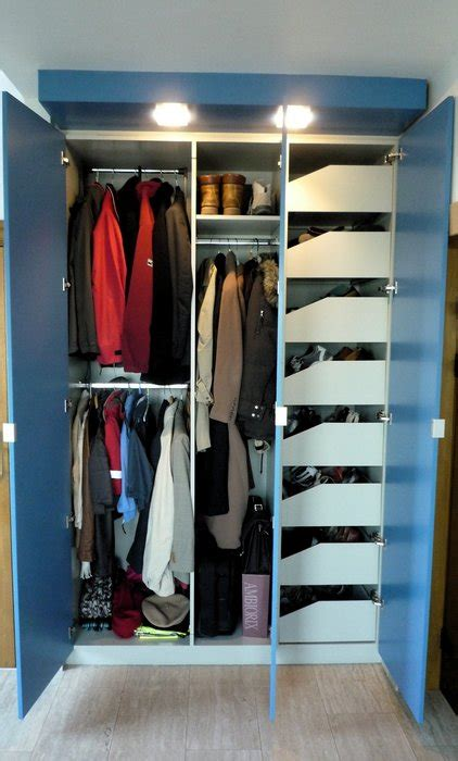 built  mdf closet  coats  shoes  thebelgian