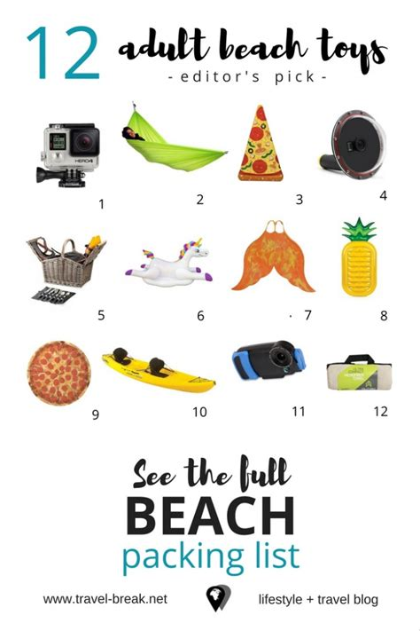 beach vacation packing list for babies and young children