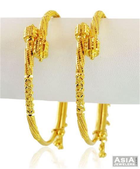 pattern of gold kada 22k filigree gold hangings kada 1 pc ajba58850 22k
