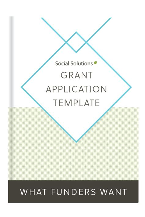 Grant Application Template For Nonprofits Grant Application Template