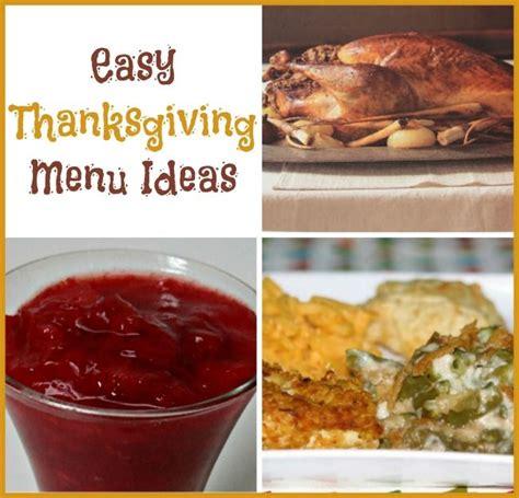 Turkey Giveaway Ideas - easy thanksgiving menu ideas