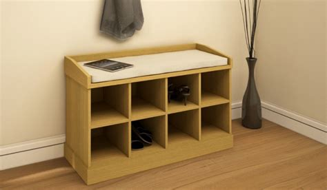 hallway shoe bench with padded seat hallway storage unit shoe bench cabinet 8 compartment