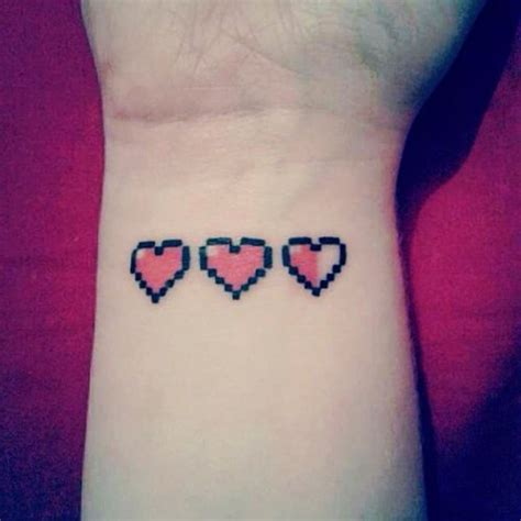 zelda hearts tattoo 15 awesomely geeky tattoos you ll want to part 2