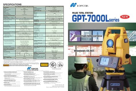 Jual Total Station Topcon Gpt 7002 jual total station topcon gpt 7000 l