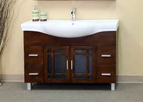 48 inch mission door vanity wood in bathroom vanities