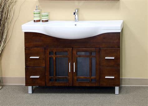 48 inch sink vanity 48 inch mission door vanity wood in bathroom vanities