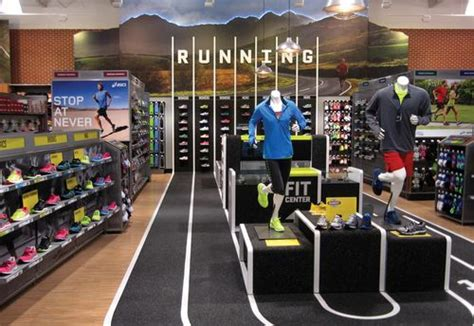 sporting shoe stores pin by jones on design environments signage