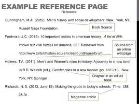 Reference List Template Apa Pics Photos Apa Format Reference Page Template