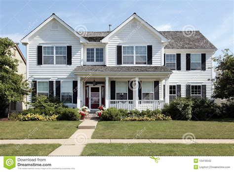 house with a porch stock photo image of chairs home 41010732 white house with large front porch stock photo image of