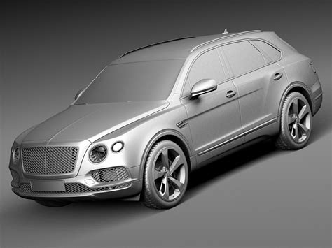 bentley bentayga render bentley bentayga 2016 3d model max obj 3ds fbx c4d