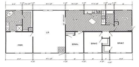 double wide floor plans 4 bedroom modular triple wide home floor plans and galleries joy