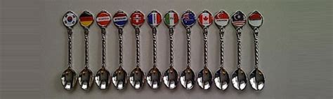 Jualan Souvenir Gantungan Kunci Negara New Zealand sendok mancanegara 2 souvenir dunia