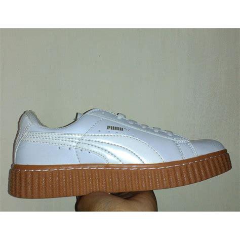 Sepatu Rihanna Low White sepatu casual sepatu active sepatu wanita sepatu