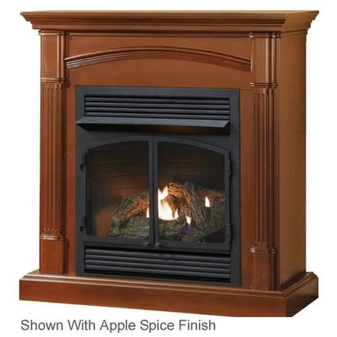 Cost Of Ventless Gas Fireplace by Procom Hns400 Size Fireplace With Mantel S Gas