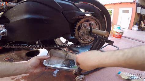 zincir temizligi nasil yapilir motosikletimin zincirini
