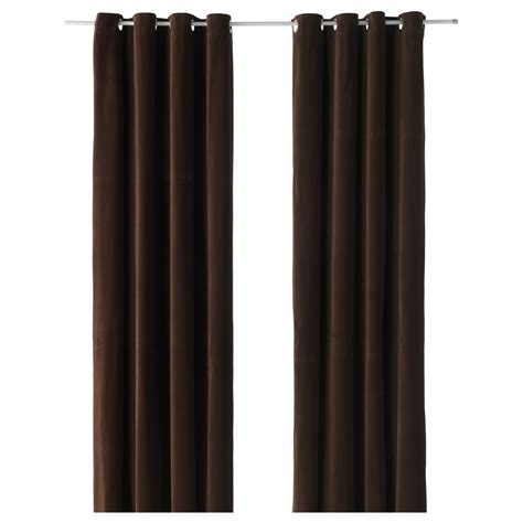 dark brown drapes 15 best collection of dark brown velvet curtains curtain